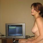 Фото голой рыжей девушки у себя дома