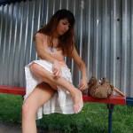 Большие натуральные молодые сиськи