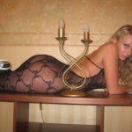 Фото девушки в эротическом белье