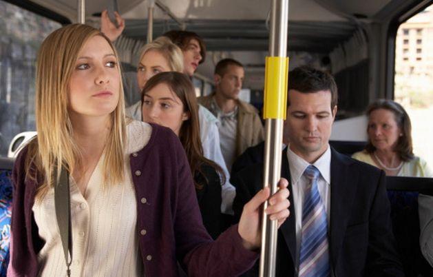 Порно рассказ девушка в автобусе